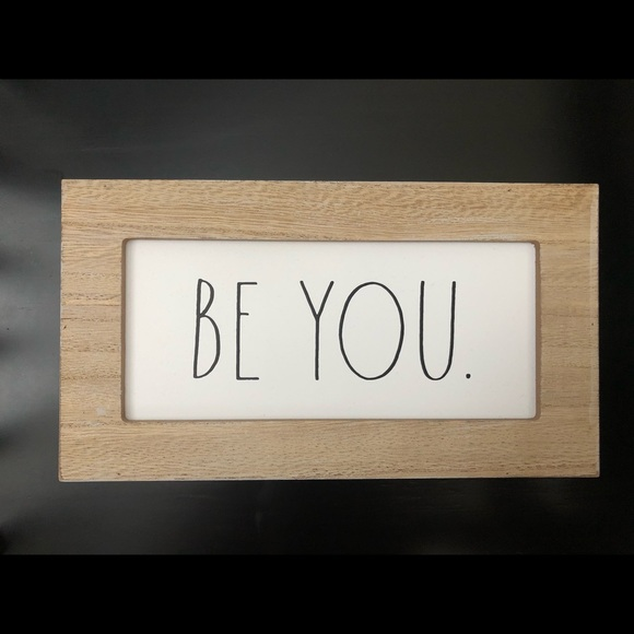 Rae Dunn Be You Sign